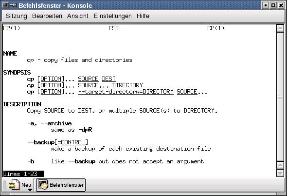 Linux.Fibel.org Version 0.6.0